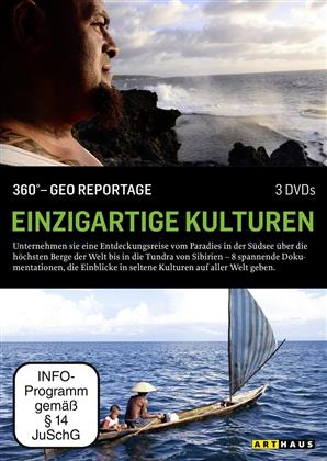 Einzigartige Kulturen - 360° - GEO Reportage (Arthaus, 2 DVDs)