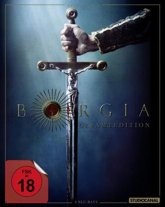 Borgia (Gesamtedition - Staffel 1-3, 8 Blu-rays)