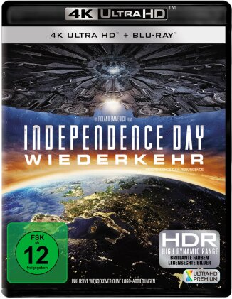Independence Day 2 - Wiederkehr (2016) (4K Ultra HD + Blu-ray)