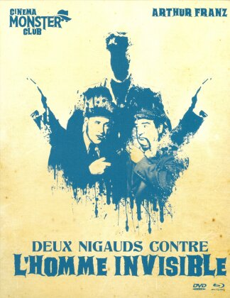 Deux nigauds contre l'homme invisible (1951) (Collection Cinema Monster Club, s/w, Blu-ray + DVD)