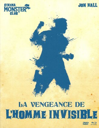 La vengeance de l'Homme Invisible (1944) (Collection Cinema Monster Club, s/w, Blu-ray + DVD)