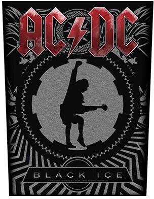 AC/DC - Black Ice - Backpatch