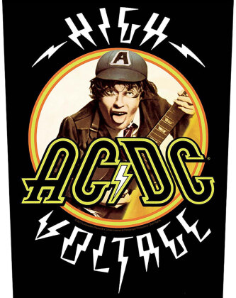 AC/DC Back Patch - High Voltage