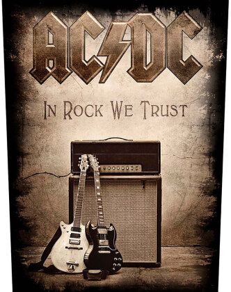 AC/DC - In Rock We Trust (Backpatch)