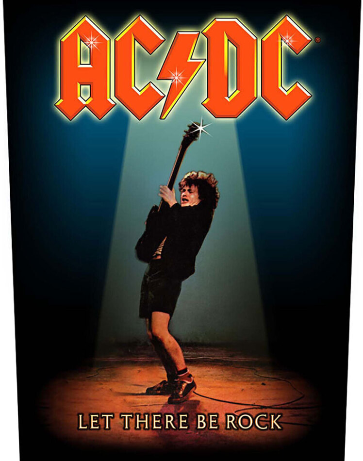 AC/DC - Let There Be Rock (Backpatch)