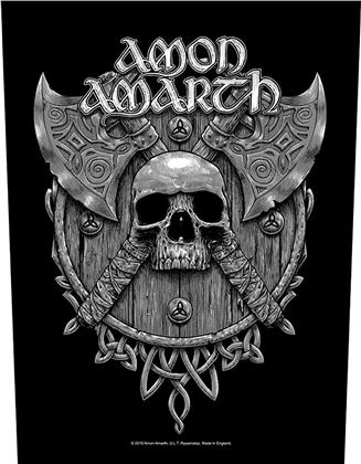 Amon Amarth - Skull And Axes (Backpatch)