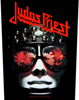 Judas Priest - Hell Bent For Leather (Backpatch)