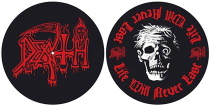 Death Slipmat Set - Life Will Never Last