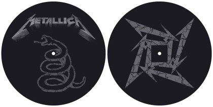 Metallica Slipmat Set - The Black Album