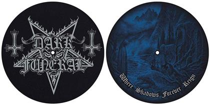 Dark Funeral Slipmat Set - Where Shadows Forever Reign