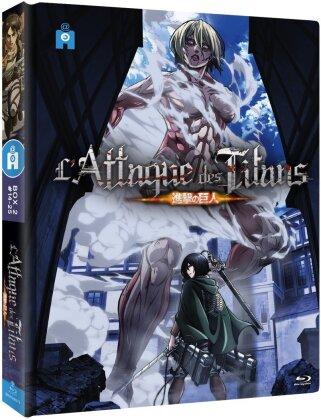 L'attaque des Titans - Box 2 - Épisodes 14 à 25 (Mediabook, 2 Blu-rays)