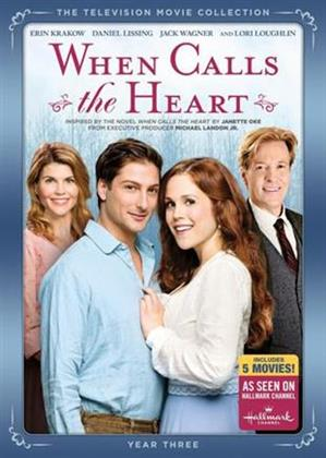 When Calls the Heart - Year 3 (5 DVDs)