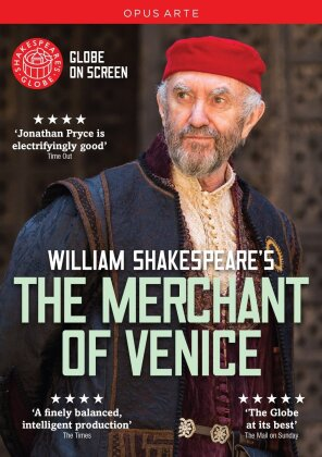 Shakespeare - The Merchant of Venice (Opus Arte, Shakespeare's Globe) - Globe Theatre