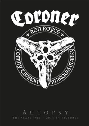 Coroner - Autopsy - The Years 1985 - 2014 in Pictures (3 DVDs + CD)