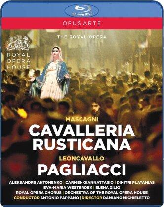 Orchestra of the Royal Opera House, Sir Antonio Pappano, … - Leoncavallo - I Pagliacci / Mascagni - Cavalleria Rusticana (Opus Arte, 2 Blu-rays)