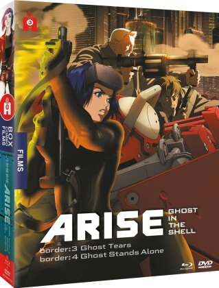 Ghost in the Shell: Arise - Border 3: Ghost Tears / Border 4: Ghost stands alone (Digibook, Blu-ray + DVD)