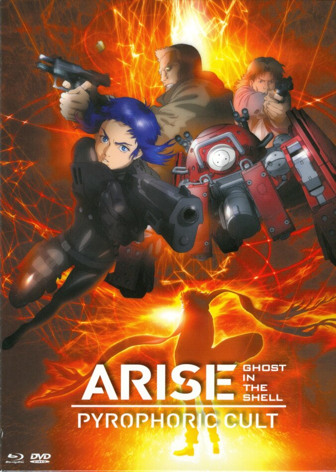 Ghost in the Shell: Arise - Pyrophoric Cult (2014) (Digibook, Blu-ray + DVD)