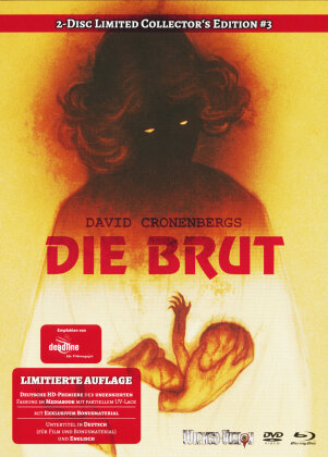 Die Brut (1979) (Limited Collector's Edition, Mediabook, Blu-ray + DVD)