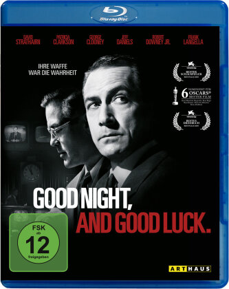 Good night, and good luck (2005) (Arthaus, n/b)