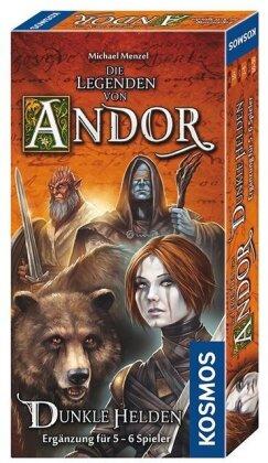 Die Legenden von Andor -Teil III - Dunkle Helden - Ergänzung für 5/6 Spieler