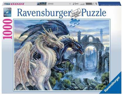 Mystische Drachen - Puzzle 1000 Teile