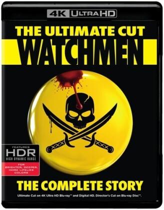 Watchmen - The Ultimate Cut (2009) (4K Ultra HD + Blu-ray)