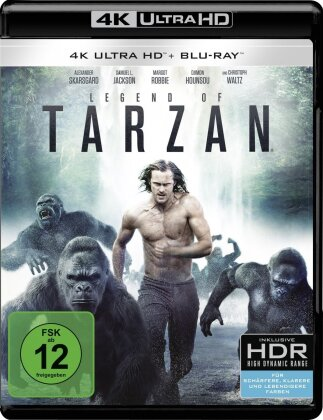 Legend of Tarzan (2016) (4K Ultra HD + Blu-ray)