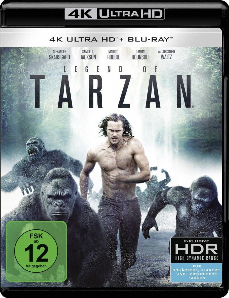 Legend of Tarzan (2016) (4K Ultra HD + Blu-ray)