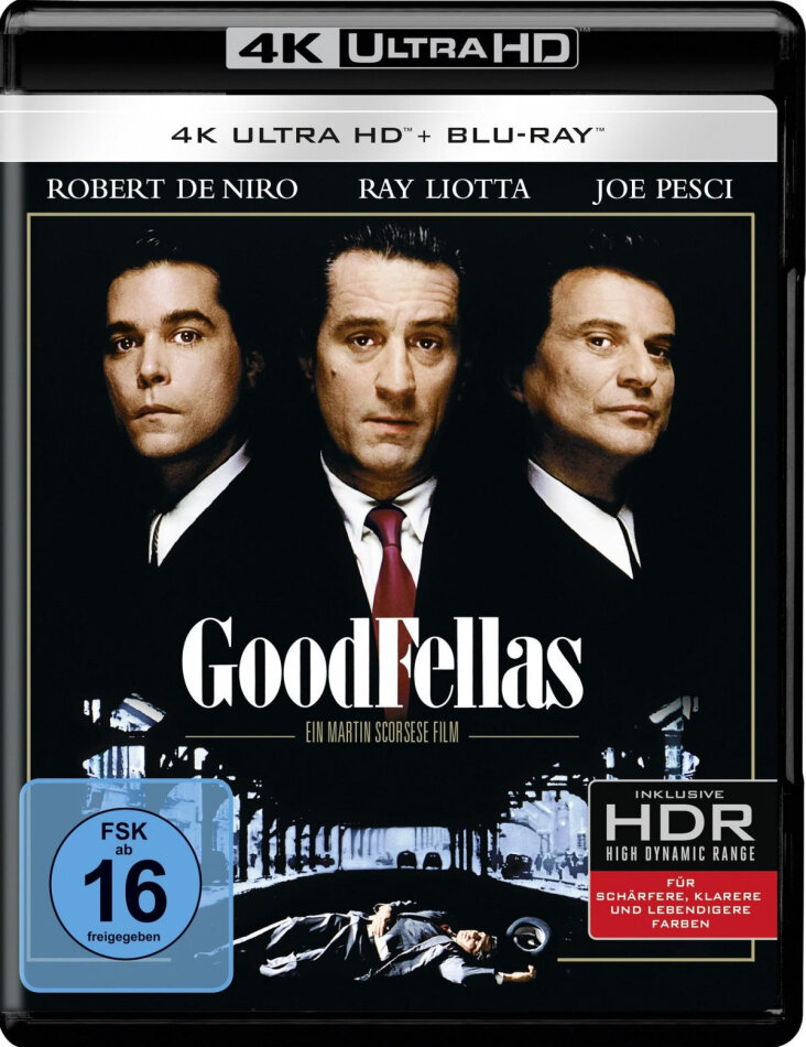 Goodfellas (1990) (4K Ultra HD + Blu-ray)