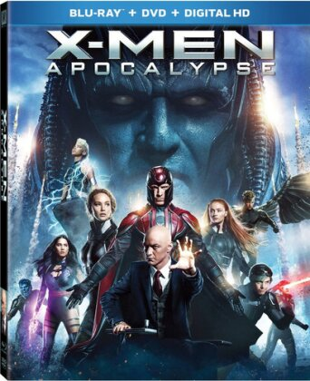 X-Men: Apocalypse (2016) (Widescreen, Blu-ray + DVD)