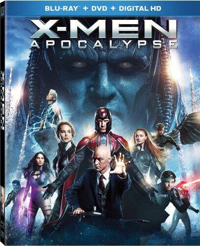 X-Men: Apocalypse (2016) (Widescreen, Blu-ray + DVD)