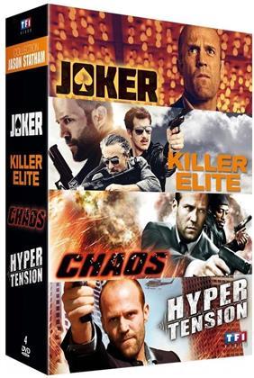 Collection Jason Statham - Joker / Killer Elite / Chaos / Hyper Tension (4 DVDs)