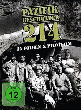 Pazifikgeschwader 214 - 35 Folgen + Pilotfilm (Limited Edition, 18 DVDs)