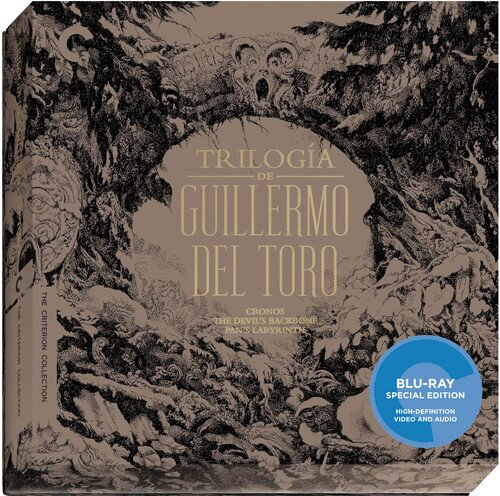 Trilogiá de Guillermo Del Toro (Collector's Edition, Criterion Collection, Special Edition, 3 Blu-rays)