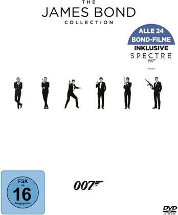 James Bond Collection 2016 - inkl. Spectre (24 DVDs)