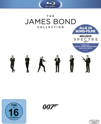 James Bond Collection 2016 - inkl. Spectre (25 Blu-rays)