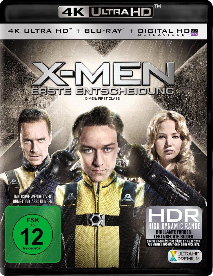 X-Men: Erste Entscheidung (2011) (4K Ultra HD + Blu-ray)