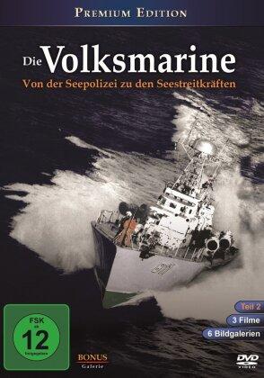Die Volksmarine - Teil 2 - Von der Seepolizei zu den Seestreitkräften (s/w, Premium Edition)