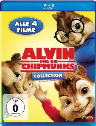 Alvin und die Chipmunks Collection (4 Blu-rays)