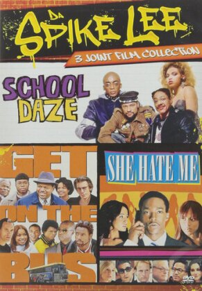 Da Spike Lee - 3 Joint Film Collection - School Daze / Get on the Bus / She Hate Me