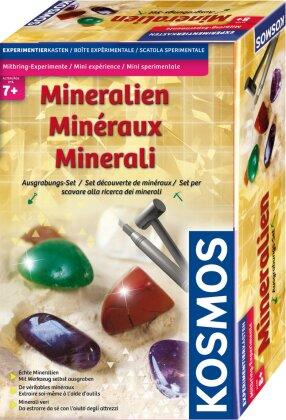 Mitbring-Experimente - Ausgrabungsset Mineralien
