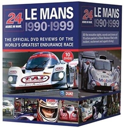 24 hours of Le Mans 1990 - 1999 (10 DVDs)