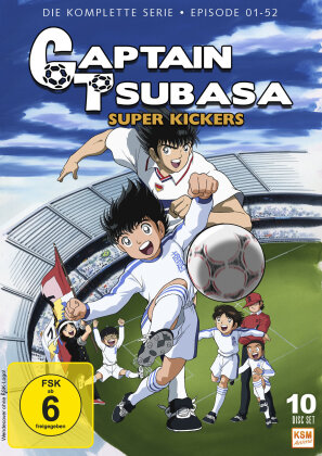 Captain Tsubasa - Super Kickers - Die komplette Serie (10 DVDs)