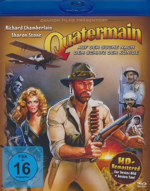 Quatermain - Auf der Suche nach dem Schatz der Könige (1985) (Remastered)