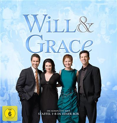 Will & Grace - Die komplette Serie (Limited Hardcover Book Edition, 34 DVDs)