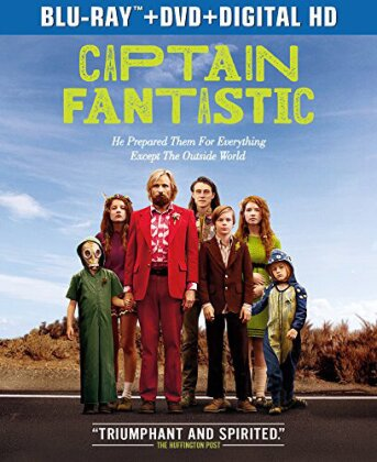 Captain Fantastic (2016) (Blu-ray + DVD)
