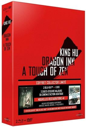 King Hu - Dragon Inn / A Touch of Zen (Limited Collector's Edition, 2 Blu-rays + DVD)