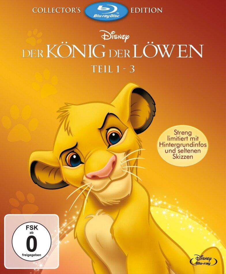 Der König der Löwen - Teil 1 - 3 (Collector's Edition, Limited Edition, 3 Blu-rays)