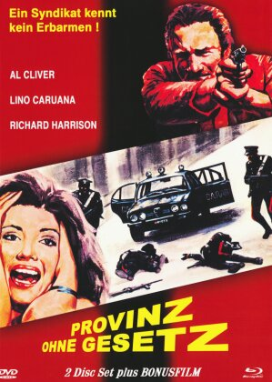 Provinz ohne Gesetz (1978) (Cover A, Mediabook, Blu-ray + DVD)