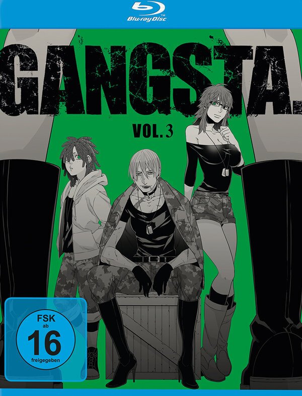 Gangsta - Vol. 3 (2015)